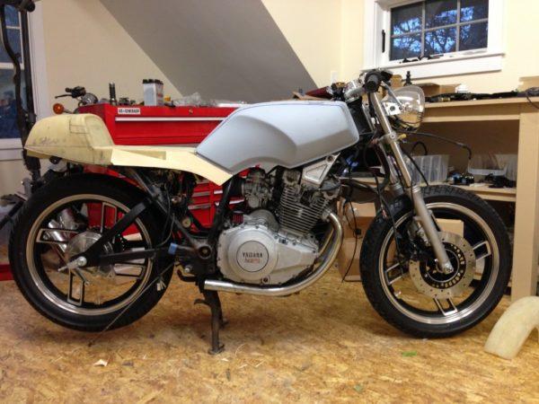 Yamaha XS400 Seca Cafe Racer
